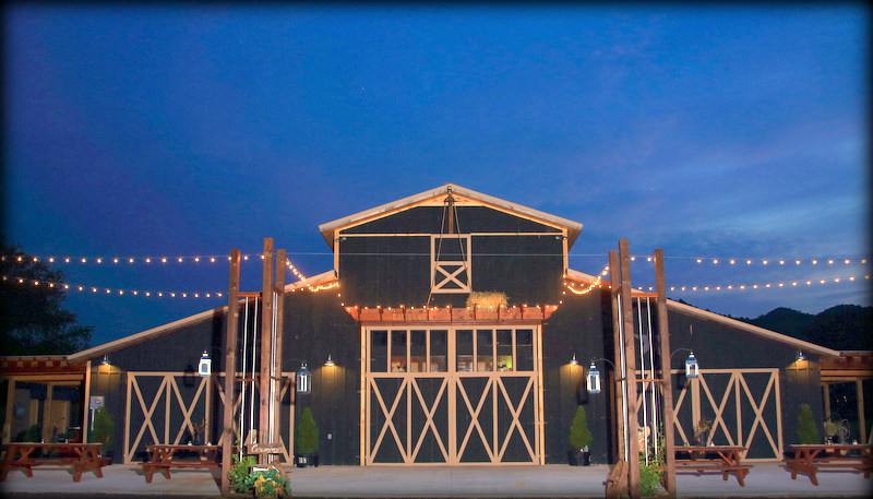 Smokey Mountain Wedding and Party Barn