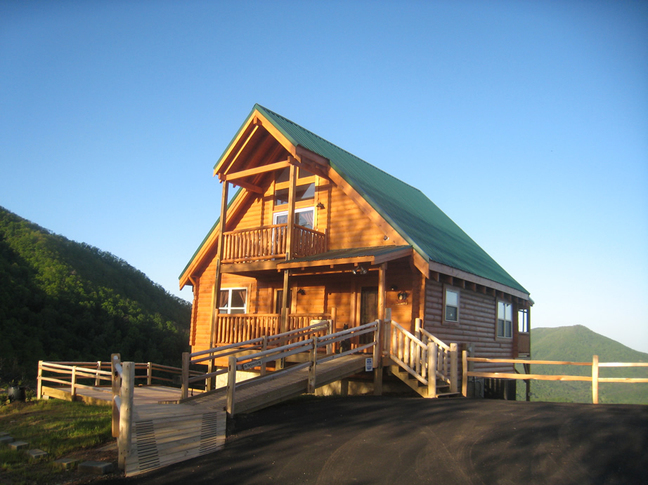 Above the clouds visit wears valley for Smoky mountain ridge cabins