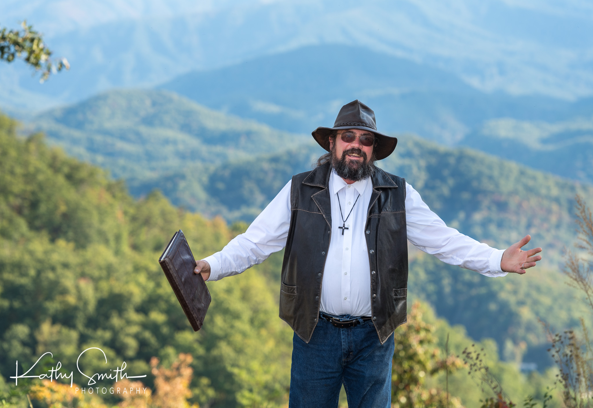 Smoky Mountain Wedding Preacher